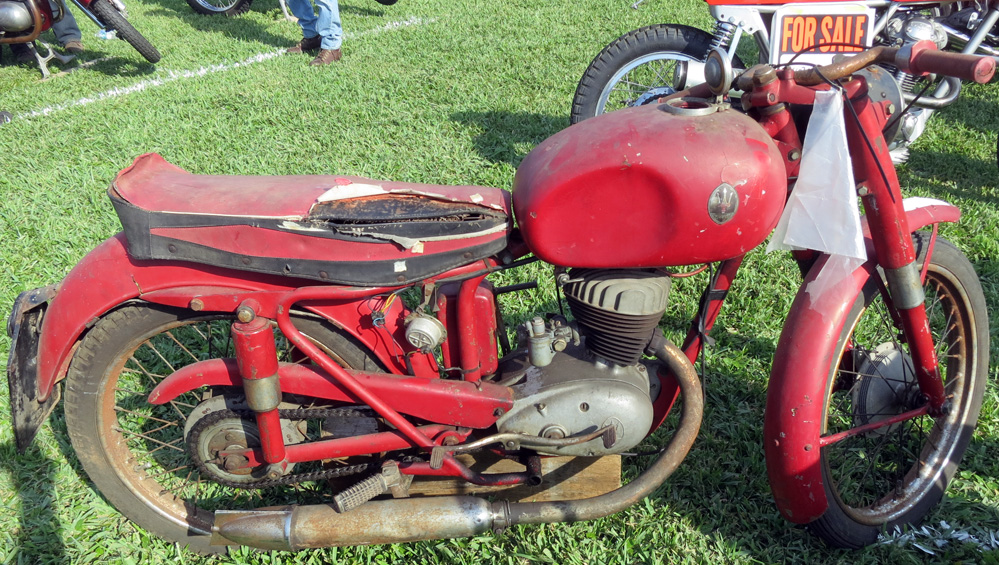 Maserati motorcycle.
