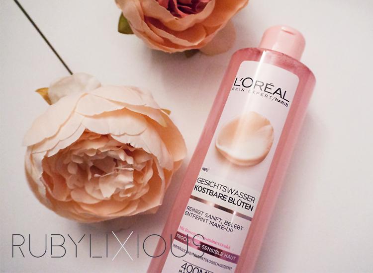 fine flowers toner, L'Oréal