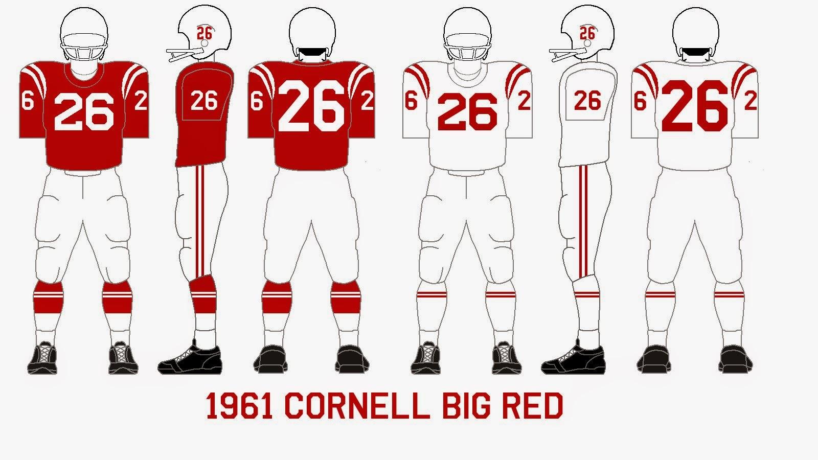 Gridiron Garb: Cornell Big Red (1961-64)
