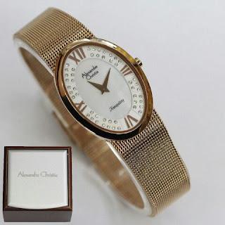 Harga jam tangan Alexandre christie gold
