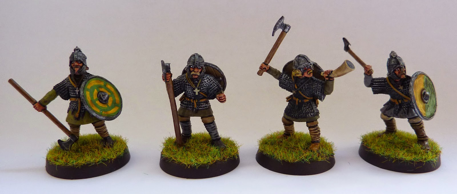 Anglo-Dane Huscarls with Dane Axes