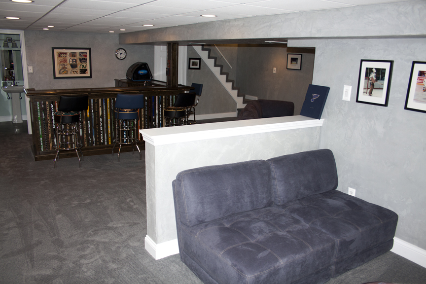 hockey haven the do it yourself basement remodel this goes out to all the lazy people. Black Bedroom Furniture Sets. Home Design Ideas