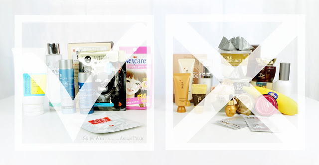 Lineup of Korean Beauty and Taiwanese Beauty products