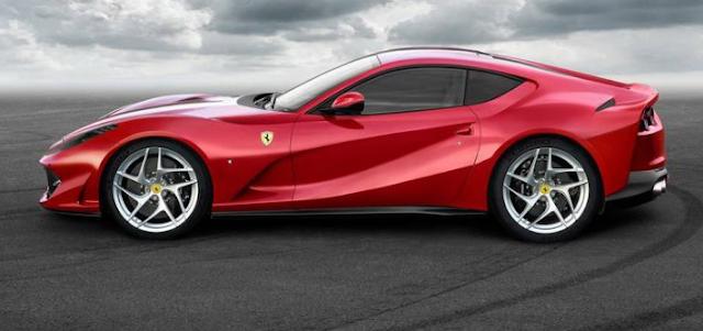2018 Ferrari 812 Superfast Changes