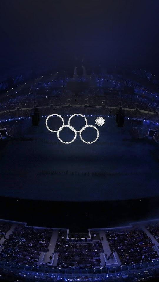 Sochi Olympics Flag Circles Sign  Galaxy Note HD Wallpaper
