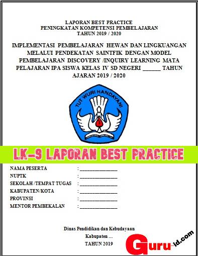 Contoh Laporan Best Practice Sekolah Model