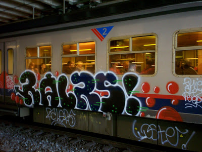 graffiti trains derme ralers