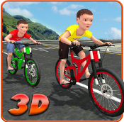 Kids Bicycle Rider Street Race Apk v1.0 Mod Unlimited Money Terbaru