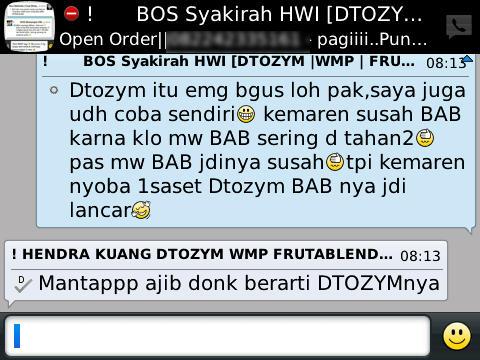 Distributor Dtozym Produk HWI Surabaya