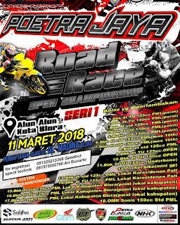 Poetra Jaya Open Road Race Championship Seri 1 Blora 11 Maret 2018