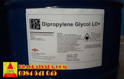 Dung môi Dipropylene Glycol DPG LO+