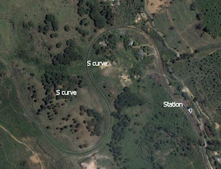 Satellite image: Rozelle railway station, Sri Lanka
