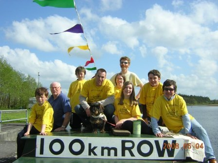 Donnaca's 100km row in 2008