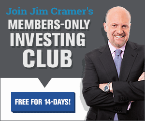 click for 14 day risk free trial on investing with jim cramer