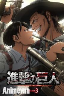 Attack on Titan SS3 - Shingeki no Kyojin Season 3 2018 Poster
