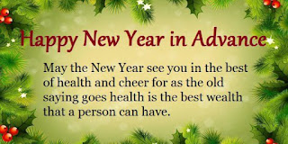 happy new year advance wishes