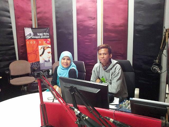 bincang santai di radio Kei FM