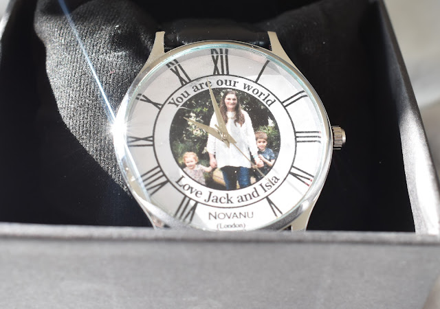 Personalised Novanu Watch Mothers Day Gift Guide | My Mummy's World