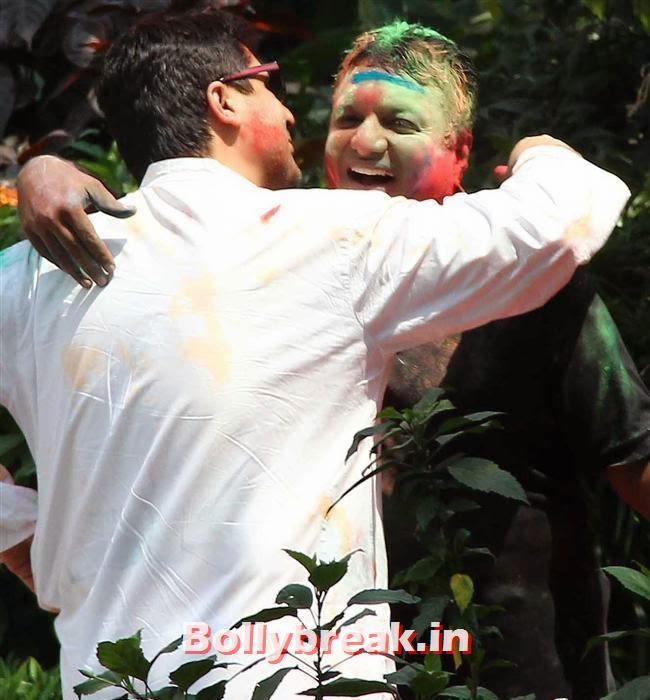 Sanjay Gupta, Sanjay Gupta Bollywood Holi Party Pics 2014