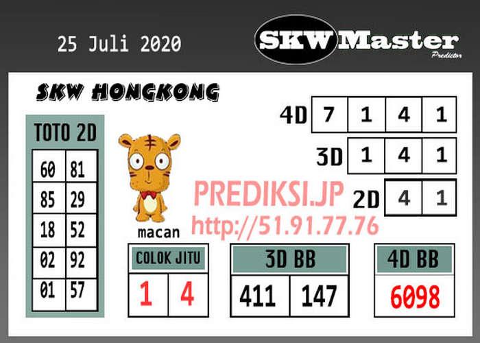 Kode syair Hongkong Sabtu 25 Juli 2020 251