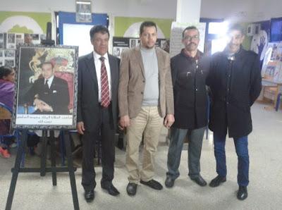 معرض للصور التاريخية والوطنية بالثانوية الإعدادية المختار السوسي بمدينة سيدي بنور
