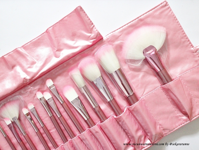 Review Pink Brush Set