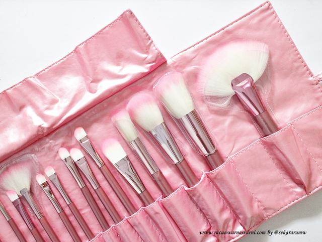 Review Pink Brush Set