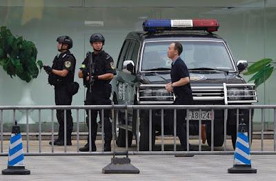 imagen del arresto de Jack el destripador chino
