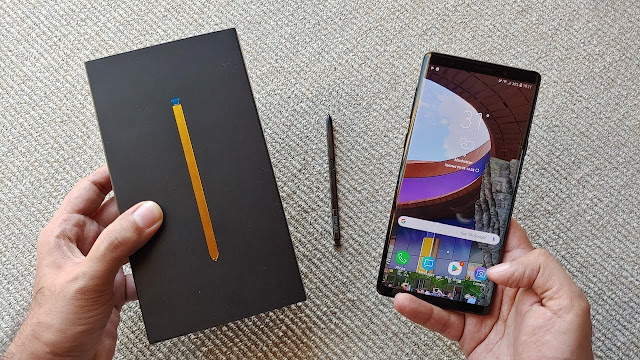 Samsung Galaxy Note 9 full and honest review and unboxing