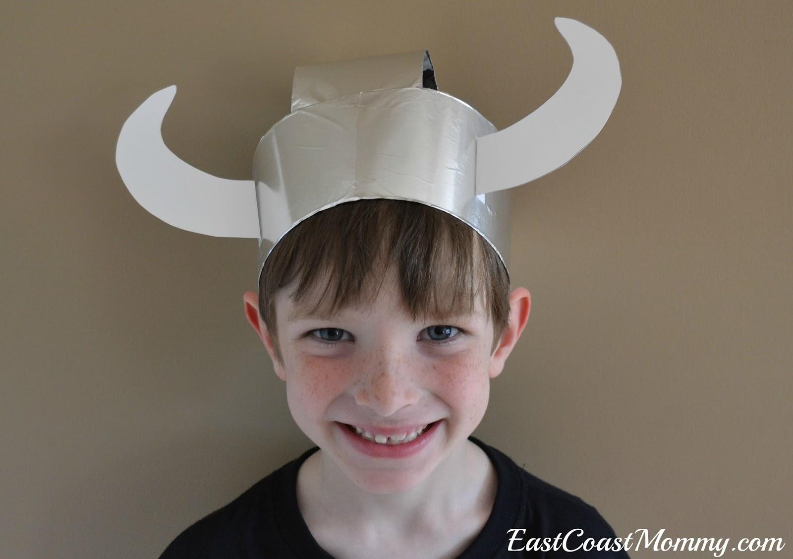 East Coast Mommy Simple Paper Viking Helmet