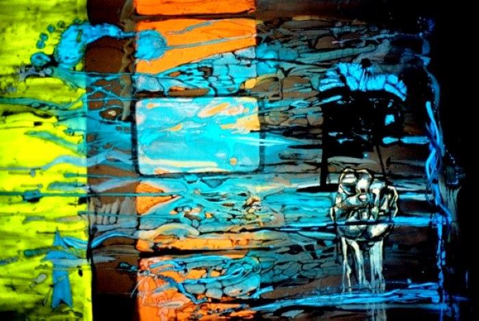 Абстрактные рисунки. Dan Colcer