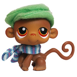 Littlest Pet Shop Multi Packs Monkey (#256) Pet