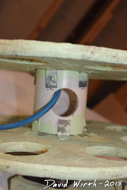 extension cord reel, wood, pvc, shop, cord, organize