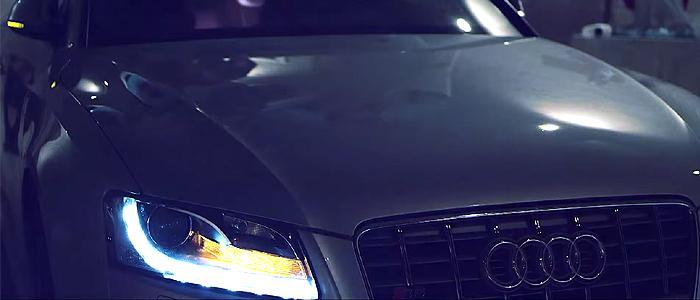 Martin Garrix - Midnight Sun 2.0のMVで使用されている車は、アウディ S5