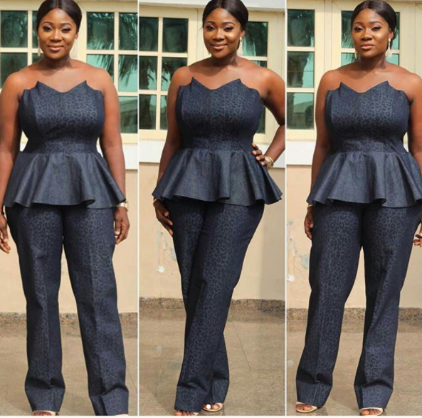 Mercy Johnson steps out in style