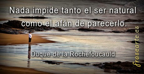 Frases famosas de el Duque de la Rochefoucauld