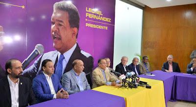 Radhamés Jiménez denuncia trama contra Leonel Fernandez