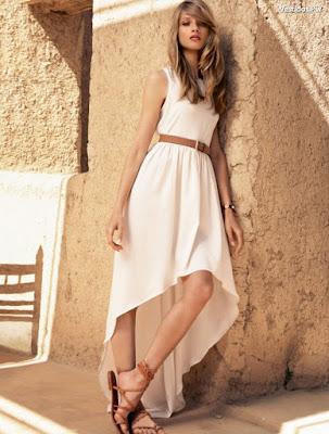 Vestidos de verano color blanco