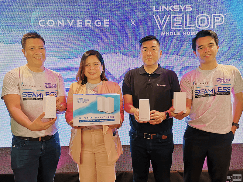 Converge partners with Linkys to offer FiberX plans with Velop Whole Home Mesh WiFi system