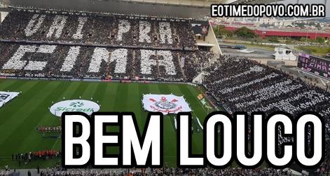 Mosaico Da Final Ocupou Dois Setores Da Arena Corinthians