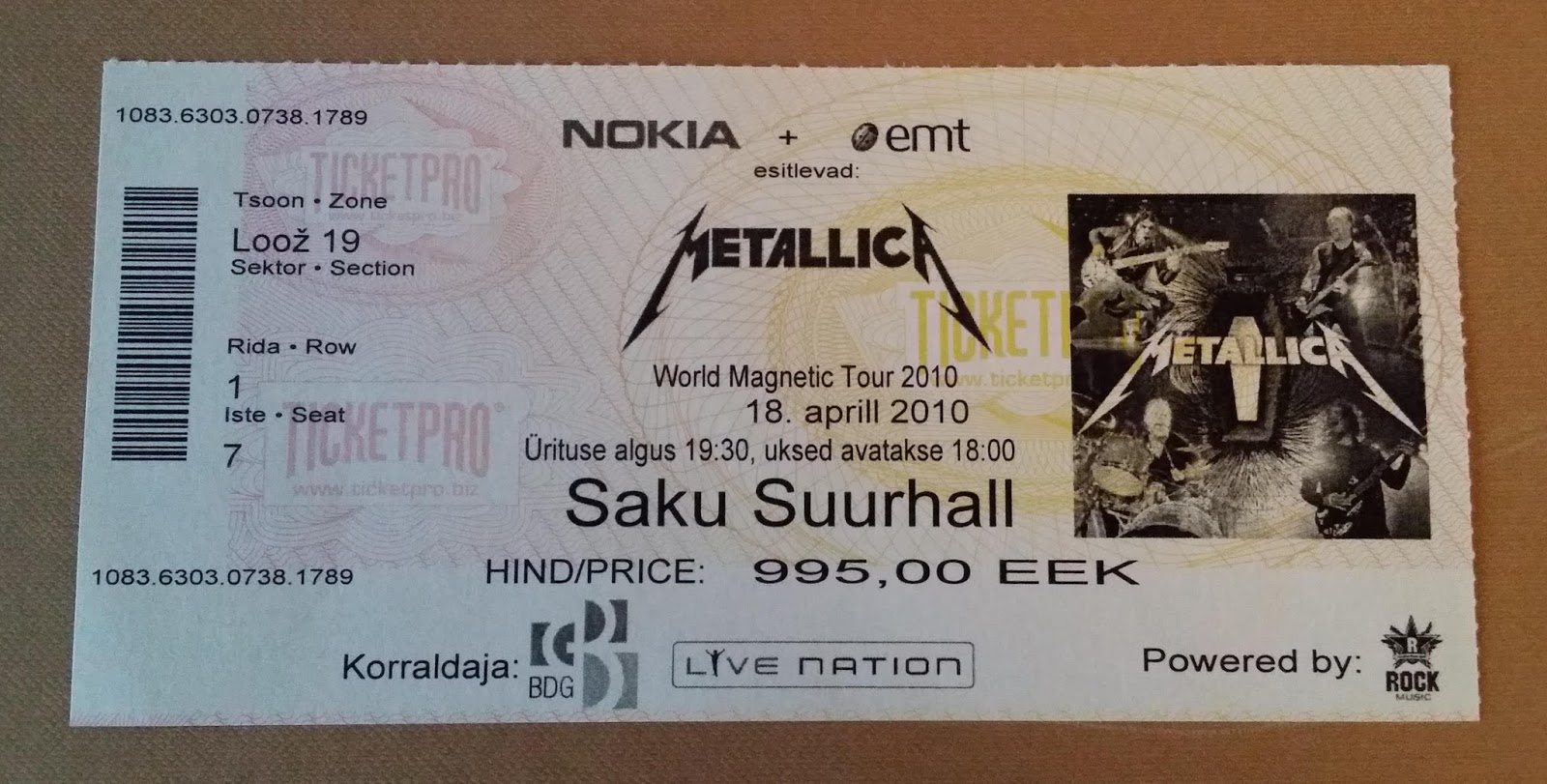 ticketmaster deutschland metallica