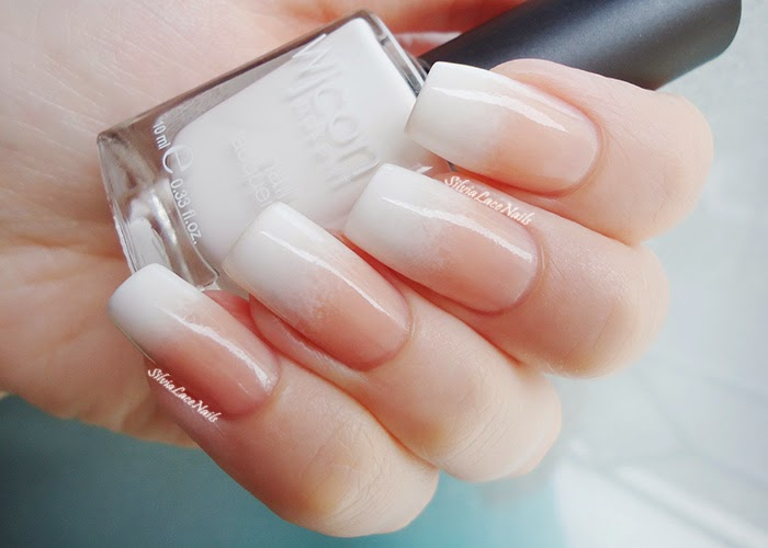 Classic white french gradient