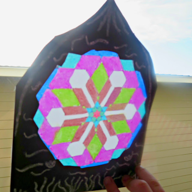 Stained Glass Project: Completed