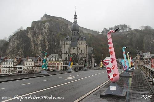Puente Charles de Gaulle Dinant