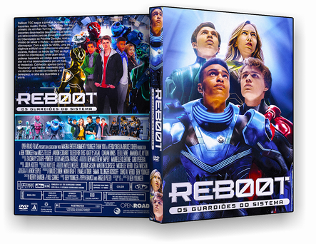 CAPA DVD – ReBoot Os Guardiões Do Sistema – DVD-R