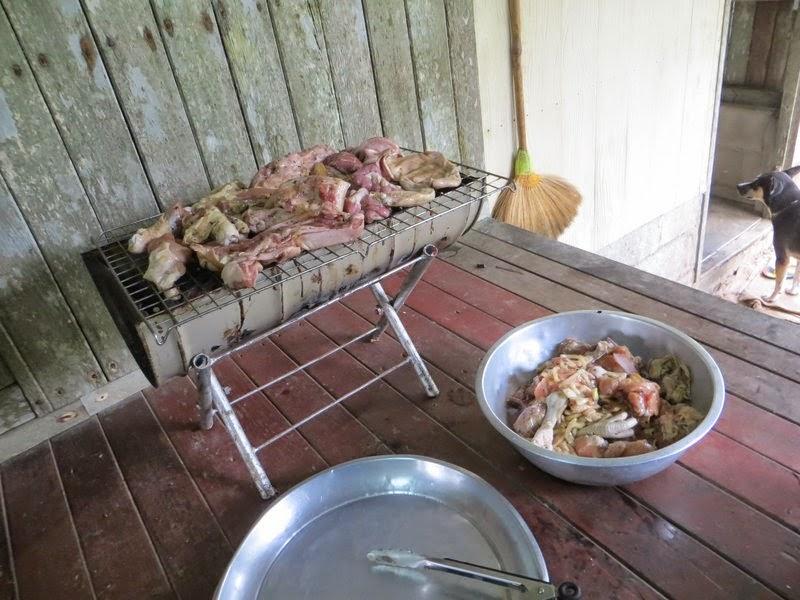 Шашлык из разного мяса