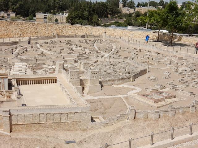 Maqueta, Museo de Israel, Jerusalem, Israel, Elisa N, Blog de Viajes