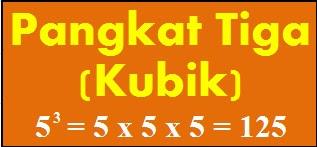 Cara Menghitung (Menentukan) Pangkat Tiga atau Bilangan Kubik