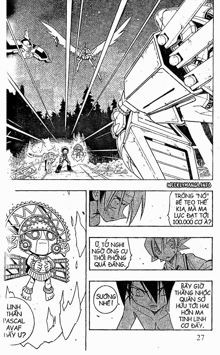 Shaman King [Vua pháp thuật] chap 205 trang 9