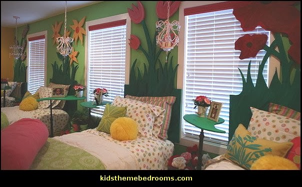 shared bedrooms-girls theme rooms shared
